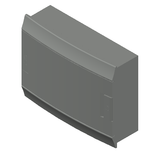 E_Distribution Board_MEPcontent_ABB_MISTRAL41F_Hollow Walls_12 modules 320x250x107 without terminals opaque door_INT-EN.dwg