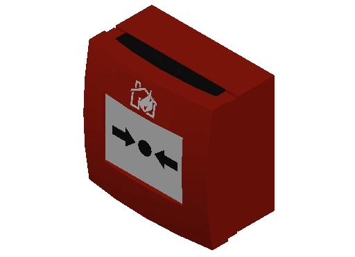 E_Detector_Fire Manual_MEPcontent_Generic_Red Casing_INT-EN.dwg