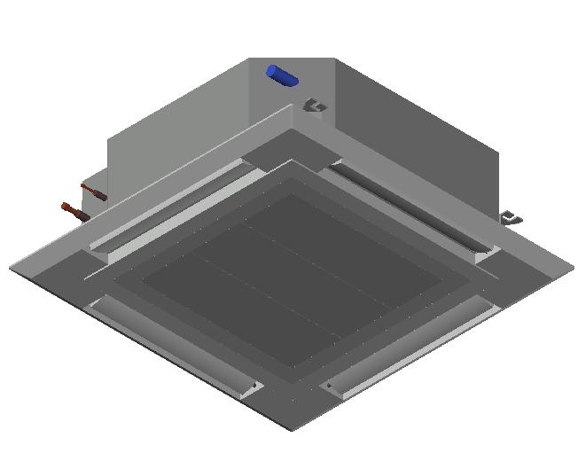 HC_Air Conditioner_Indoor Unit_F_MEPcontent_Mitsubishi Electric Corporation_PLFY-M40VEM-E_INT-EN.dwg