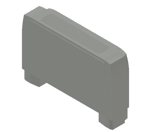 VE_Fan Coil Unit_MEPcontent_Sabiana_Carisma CRC MV_Heating Additional Coils_Carisma CRC MV 43+1_INT-EN.dwg