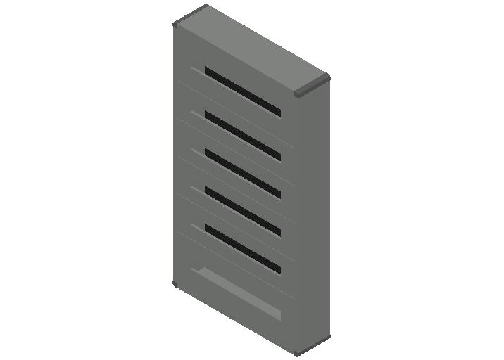 E_Distribution Panel_MEPcontent_Legrand_Lexic XL3 160_Plastic_Wall Mounting_6x144_INT-EN.dwg
