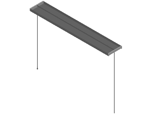 E_Lighting Fixture_F_MEPcontent_FLOS_Mini Beam S1_2x28W T5 Grey.dwg
