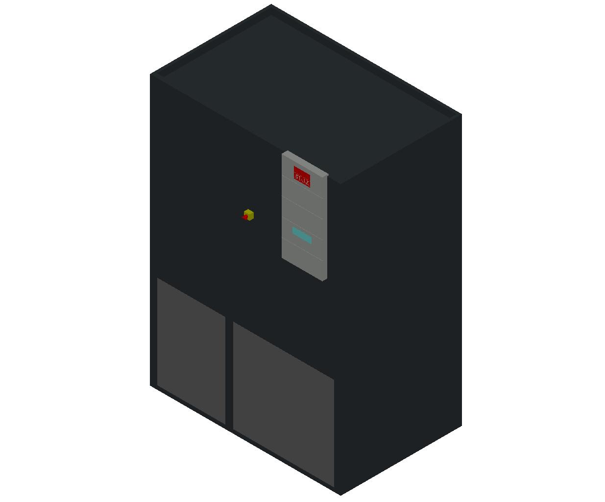HC_Air Conditioner_Indoor Unit_MEPcontent_STULZ_CyberAir 3PRO_ASU_Single Circuit AS_ASU_411_AS_INT-EN.dwg