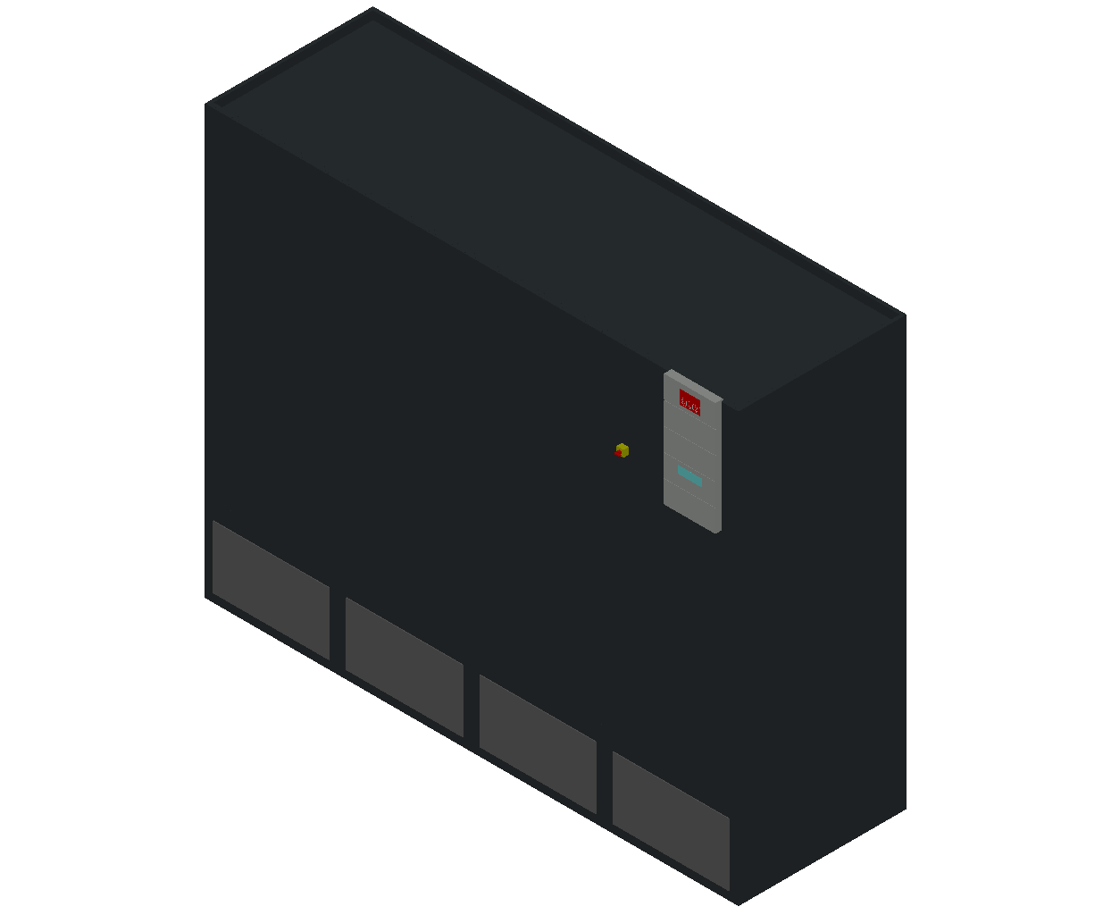 HC_Air Conditioner_Indoor Unit_MEPcontent_STULZ_CyberAir 3PRO_ALR_Dual Circuit GES_ALR_1802_GES_INT-EN.dwg