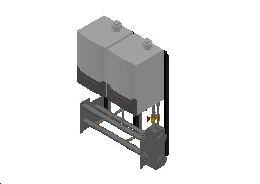 HC_Boiler_MEPcontent_Remeha_Quinta Ace 45-65-90-115 Cascade Freestanding 2_DN65 0-350kW - QAce45_INT-EN.dwg