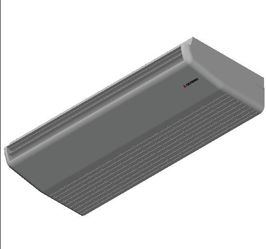 HC_Air Conditioner_Indoor Unit_F_MEPcontent_Mitsubishi Heavy Industries_VRF_FDE140KXZE1_INT-EN.dwg