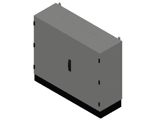 E_Distribution Panel_MEPcontent_ABB_TwinLine N 55_Earthed_800x1050x350_INT-EN.dwg
