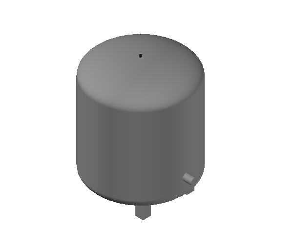 HC_Expansion Vessel_MEPcontent_Caleffi_556_35 Liters_DN20 DN25.dwg