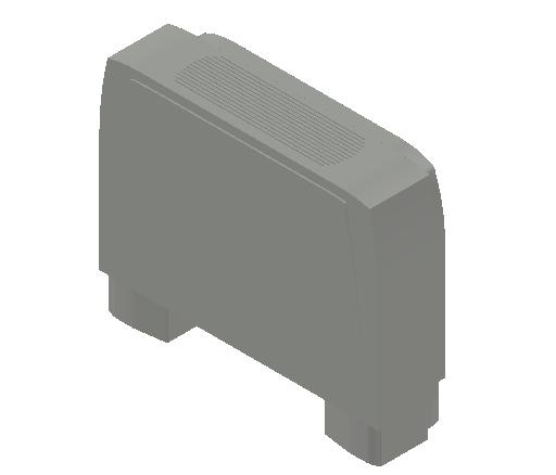 VE_Fan Coil Unit_MEPcontent_Sabiana_Carisma CRC MV_Heating Additional Coils_Carisma CRC MV 24+1_INT-EN.dwg