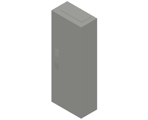 E_Distribution Panel_MEPcontent_ABB_ComfortLine CA-Cabinets_5 Rows_CA15 - IP44 60 modules 800x300x160 empty with door 5R_INT-EN.dwg