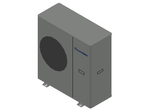 HC_Heat Pump_MEPcontent_Climaveneta_i-BX-N-(Y) 004 1 Phase_INT-EN.dwg