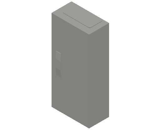 E_Distribution Panel_MEPcontent_ABB_ComfortLine CA-Cabinets_4 Rows_CA14V - IP44 48 modules 650x300x160 4R_INT-EN.dwg