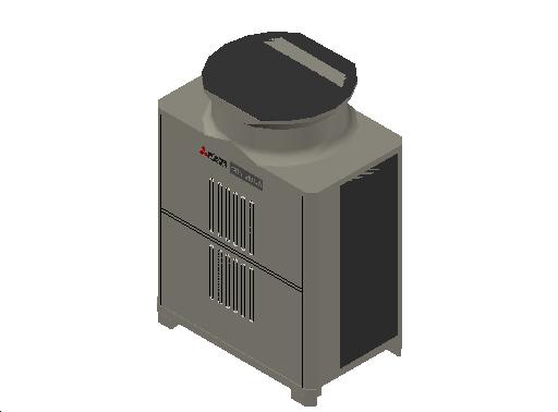 HC_Heat Pump_MEPcontent_Mitsubishi Electric Corporation_PUHY-EP300YLM-A1_INT-EN.dwg
