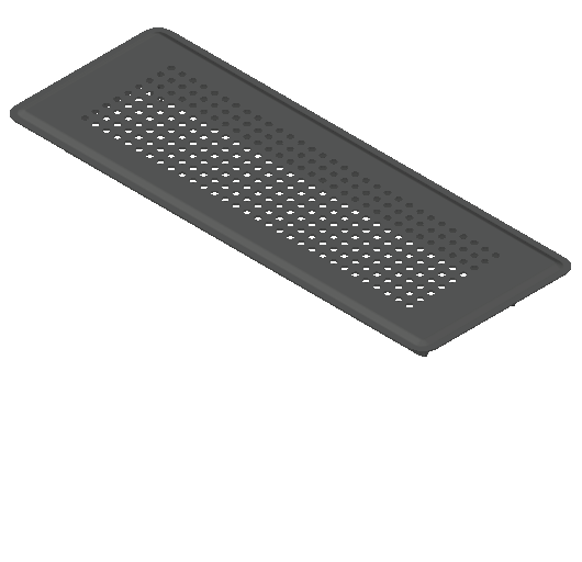 VE_Grille_MEPcontent_Ubbink_Air Excellent_Floor Grate_350x130 Stainless Steel.dwg