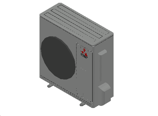 HC_Heat Pump_MEPcontent_Mitsubishi Electric Corporation_MUZ-HJ71VA_INT-EN.dwg