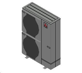 HC_Heat Pump_MEPcontent_Mitsubishi Electric Corporation_Ecodan_PUHZ-SW100VHA_INT-EN.dwg