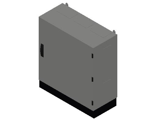 E_Distribution Panel_MEPcontent_ABB_TwinLine N 55_Earthed_800x800x350_INT-EN.dwg