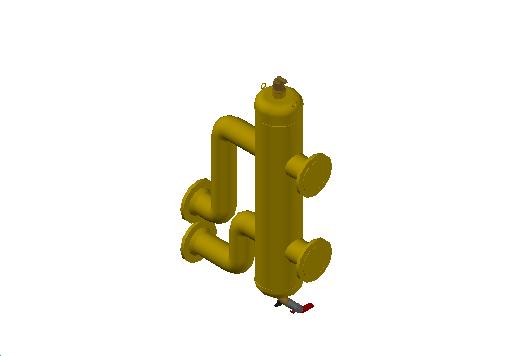 M_Separator_Air and Dirt_MEPcontent_Spirotech_SpiroCross-R_DN65-100 With Magnet_XC0100FMK45A01_INT-EN.dwg