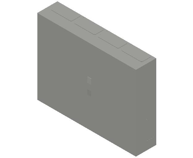 E_Distribution Panel_MEPcontent_ABB_ComfortLine B-Cabinets_5 Rows_B45 - IP44 240 modules 800x1050x215_INT-EN.dwg