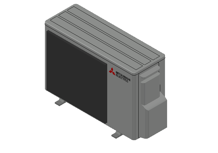 HC_Heat Pump_MEPcontent_Mitsubishi Electric Corporation_MXZ-2F33VF3-E2_INT-EN.dwg