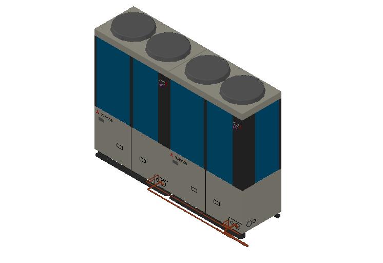 HC_Heat Pump_MEPcontent_Mitsubishi Heavy Industries_VRF_FDC1000KXZE2_INT-EN.dwg