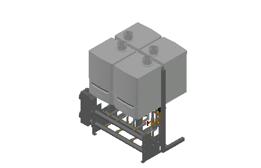 HC_Boiler_MEPcontent_De Dietrich Thermique_Cascade Double Sided 4_Evodens Pro_4x AMC 65 with Concentric Connection 150_INT-EN.dwg