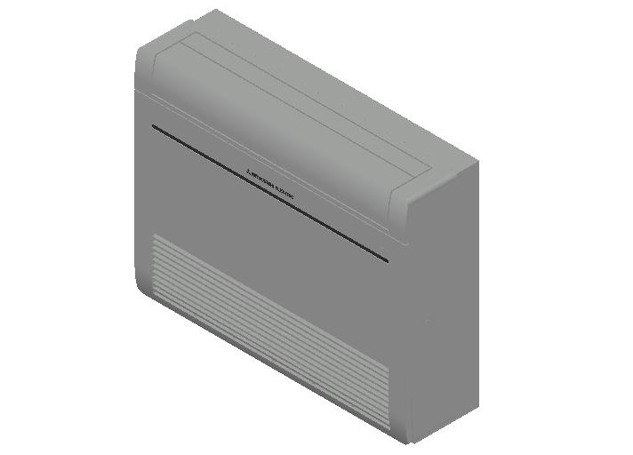HC_Air Conditioner_Indoor Unit_MEPcontent_Mitsubishi Electric Corporation_MFZ-KT60VG_INT-EN.dwg