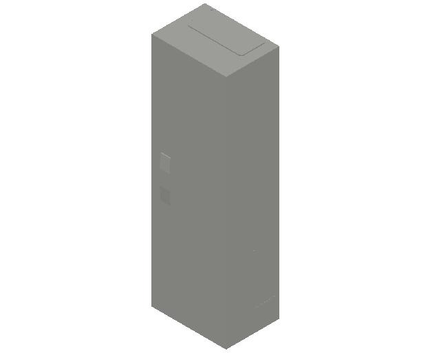 E_Distribution Panel_MEPcontent_ABB_ComfortLine B-Cabinets_6 Rows_B16 - IP44 72 modules 950x300x215_INT-EN.dwg
