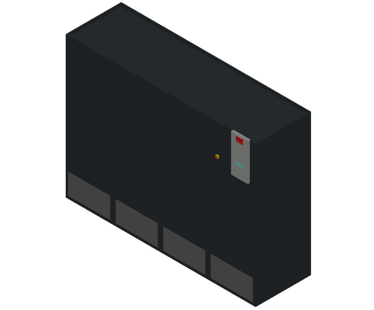 HC_Air Conditioner_Indoor Unit_MEPcontent_STULZ_CyberAir 3PRO_ASR_CW2_ASR_2160_CW2_INT-EN.dwg