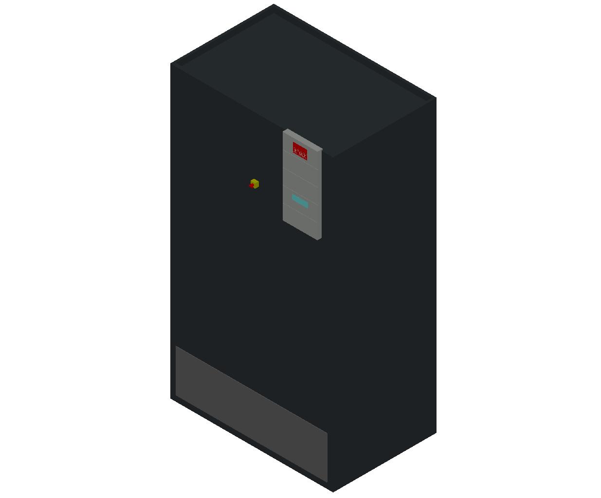 HC_Air Conditioner_Indoor Unit_MEPcontent_STULZ_CyberAir 3PRO_ASR_CW_ASR_610_CW_INT-EN.dwg
