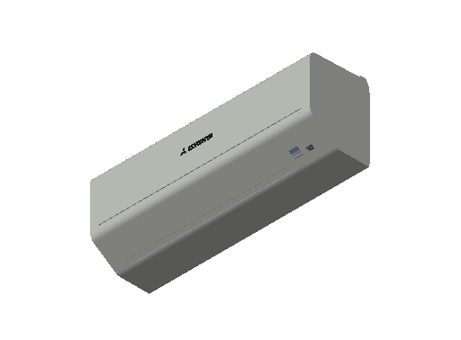 HC_Air Conditioner_Indoor Unit_F_MEPcontent_Mitsubishi Heavy Industries_RAC_SRK25ZSP-S_INT-EN.dwg