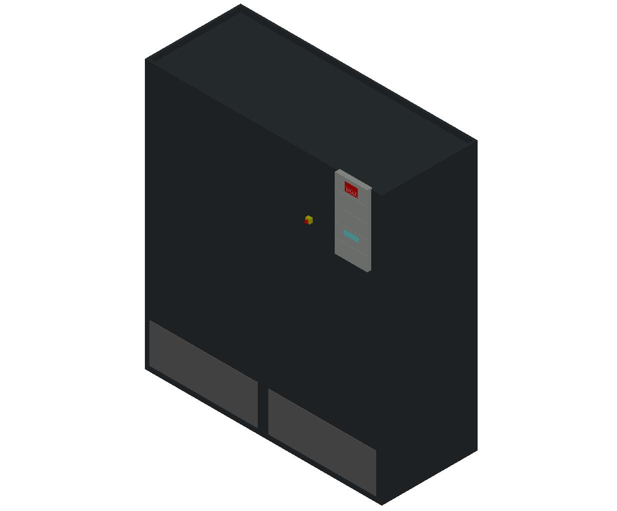 HC_Air Conditioner_Indoor Unit_MEPcontent_STULZ_CyberAir 3PRO_ASR_Dual Circuit A_ASR_722_A_INT-EN.dwg