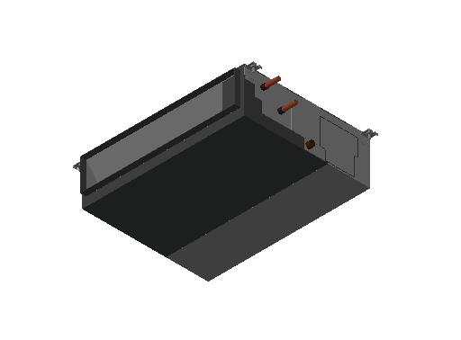 HC_Air Conditioner_Indoor Unit_MEPcontent_Mitsubishi Electric Corporation_PEFY-W40VMAL-A_INT-EN.dwg