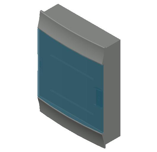 E_Distribution Board_MEPcontent_ABB_MISTRAL41F_Hollow Walls_24 modules 320x435x107 without terminals transparent door_INT-EN.dwg