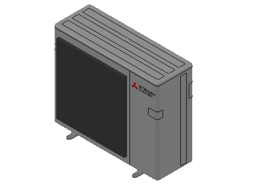 HC_Heat Pump_MEPcontent_Mitsubishi Electric Corporation_MXZ-5E102VA_INT-EN.dwg
