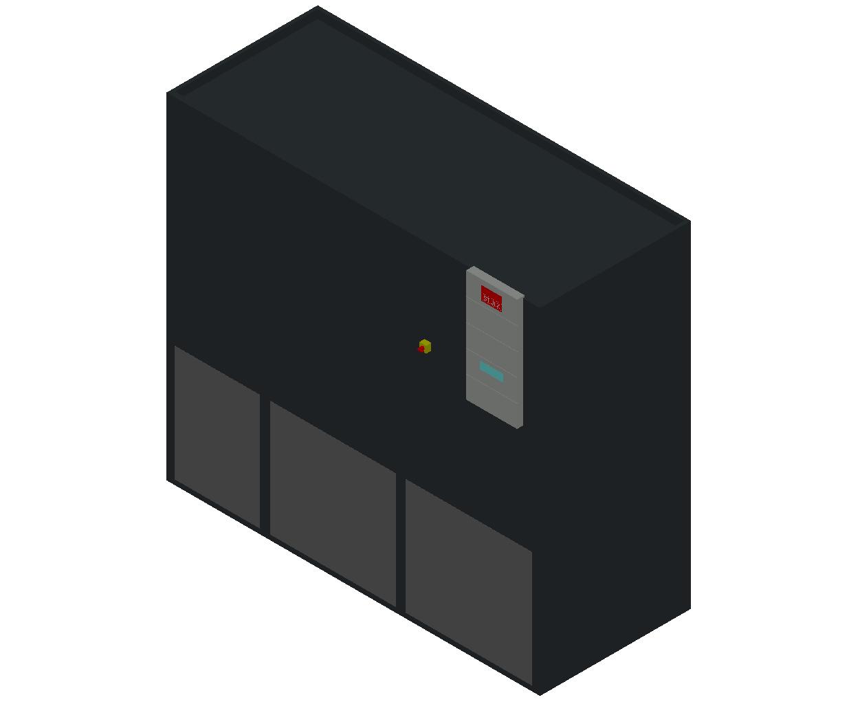HC_Air Conditioner_Indoor Unit_MEPcontent_STULZ_CyberAir 3PRO_ALU_Dual Circuit GES_ALU_692_GES_INT-EN.dwg