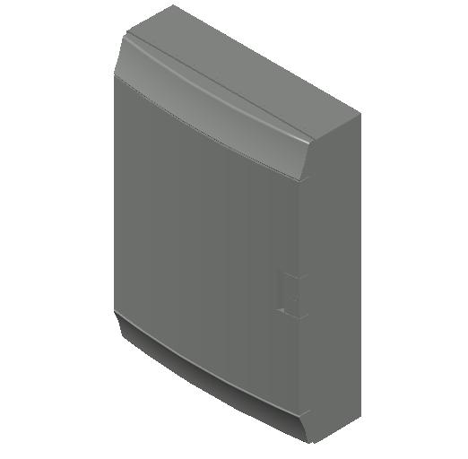 E_Distribution Board_MEPcontent_ABB_MISTRAL65_54 modules 430x600x155 with terminals opaque door_INT-EN.dwg