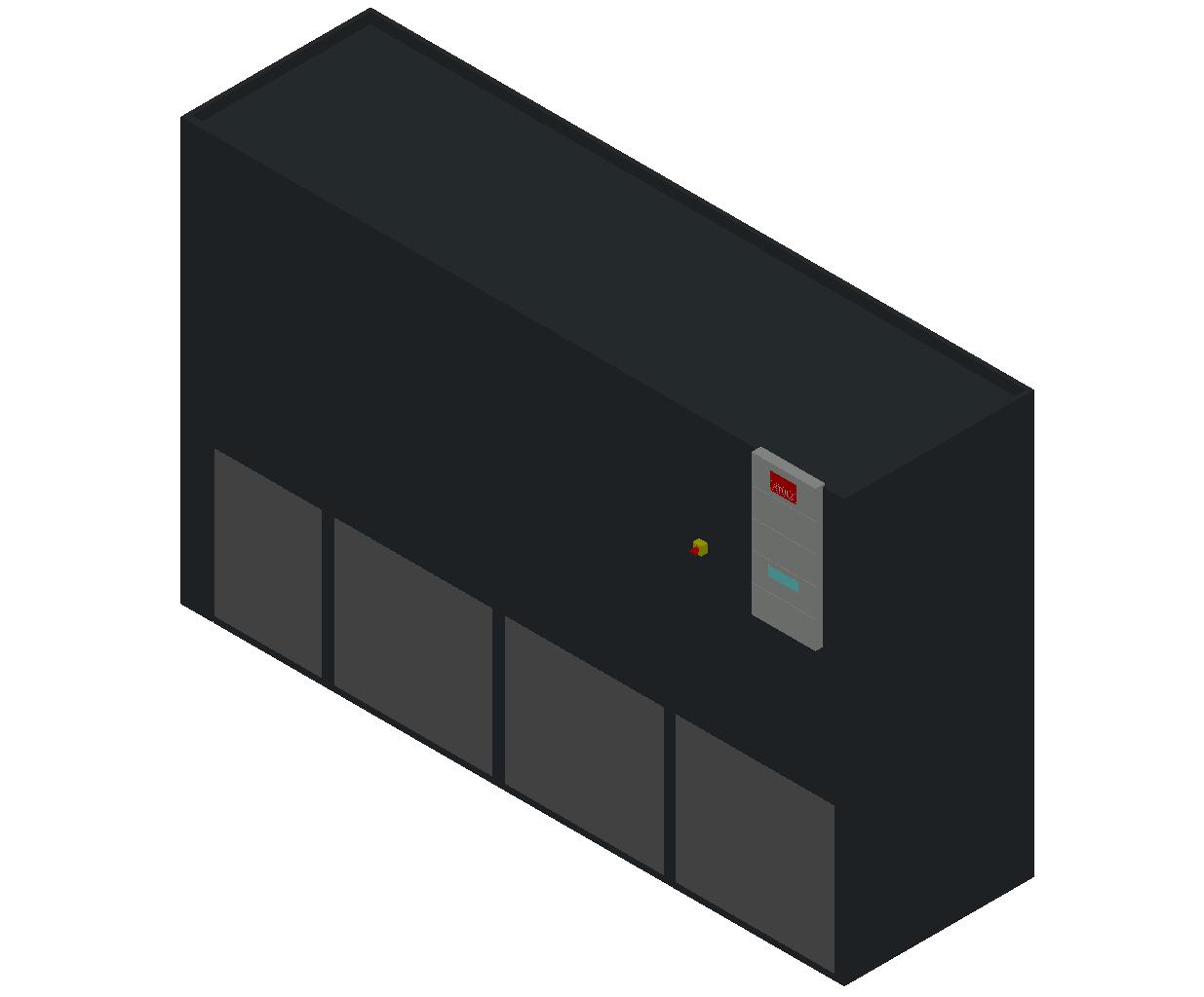 HC_Air Conditioner_Indoor Unit_MEPcontent_STULZ_CyberAir 3PRO_ALU_Dual Circuit GES_ALU_1042_GES_INT-EN.dwg
