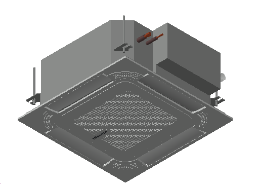 HC_Air Conditioner_Indoor Unit_MEPcontent_Hisense_AVC-17HJFA_INT-EN.dwg