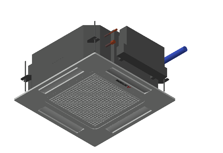 HC_Air Conditioner_Indoor Unit_MEPcontent_Mitsubishi Heavy Industries_VRF_FDTC45KXZE1-W_INT-EN.dwg