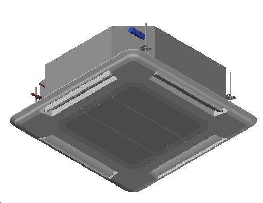 HC_Air Conditioner_Indoor Unit_MEPcontent_Mitsubishi Electric Corporation_PLA-RP35BA_Standard Inverter_1 Phase_INT-EN.dwg
