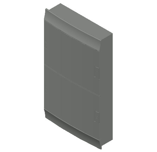 E_Distribution Board_MEPcontent_ABB_MISTRAL41F_Hollow Walls_72 modules 430x735x127 without terminals opaque door_INT-EN.dwg