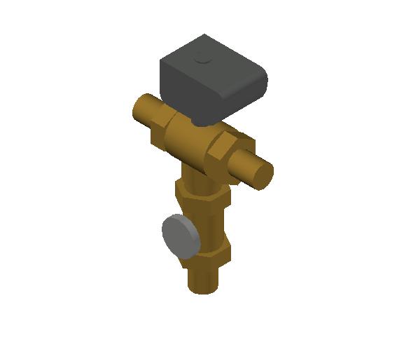 SA_Electronic_mixing_valve-MEPContent_CALEFFI-6000A-DN20-DN50_1 inch. NPT male_US-EN.dwg