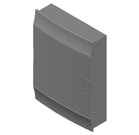 E_Distribution Board_MEPcontent_ABB_MISTRAL41F_Hollow Walls_24 modules 320x435x107 without terminals opaque door_INT-EN.dwg