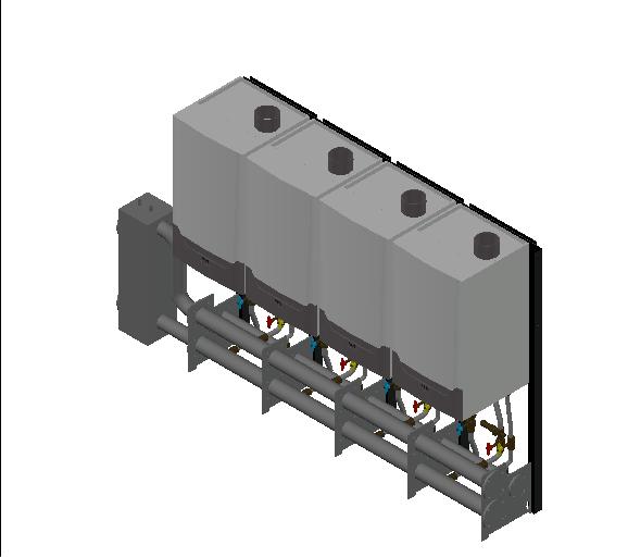 HC_Boiler_MEPcontent_Remeha_Quinta Ace 160 Cascade_Freestanding 4_592 kW_INT-EN.dwg
