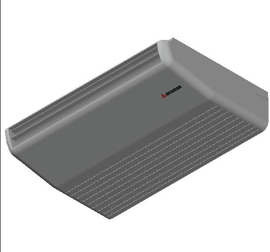 HC_Air Conditioner_Indoor Unit_F_MEPcontent_Mitsubishi Heavy Industries_VRF_FDE45KXZE1_INT-EN.dwg