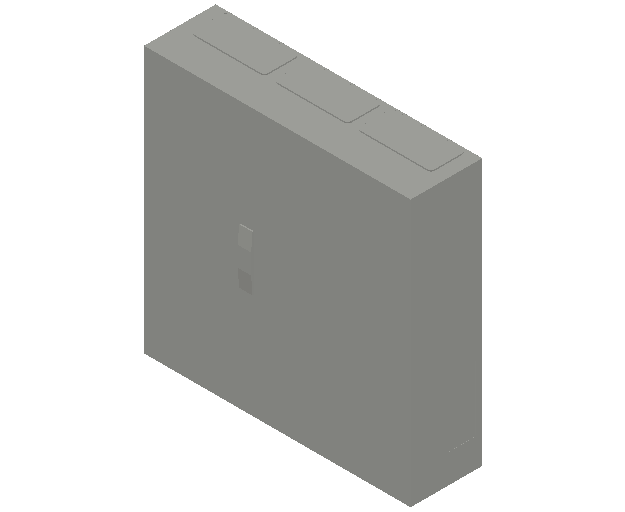 E_Distribution Panel_MEPcontent_ABB_ComfortLine B-Cabinets_5 Rows_B35 - IP44 180 modules 800x800x215_INT-EN.dwg