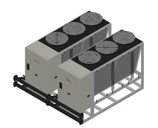 HC_Heat Pump_MEPcontent_Elco_Cascade AEROTOP L 79 2 Units_INT-EN.dwg