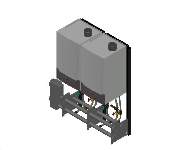 HC_Boiler_MEPcontent_Remeha_Quinta Ace 160 Cascade_Freestanding 2_296 kW_INT-EN.dwg