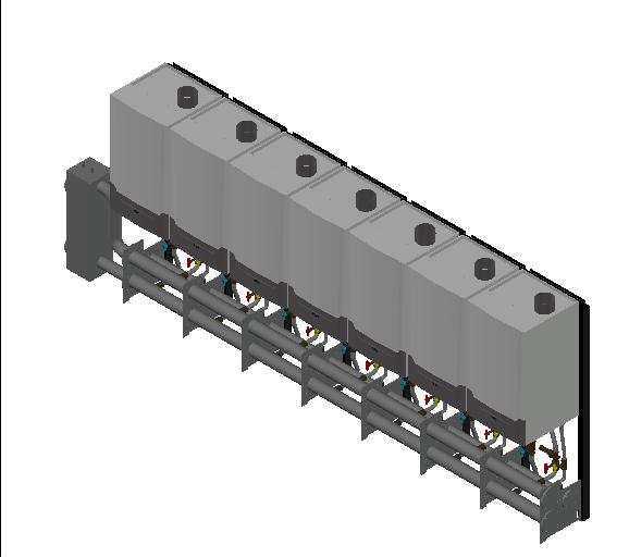 HC_Boiler_MEPcontent_Remeha_Quinta Ace 160 Cascade_Freestanding 7_1036 kW_INT-EN.dwg
